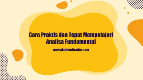 Cara Praktis Belajar Analisa Fundamental